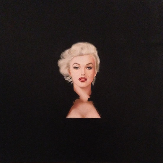 Marilyn Monroe | Shabana Kauser | Oil on Canvas