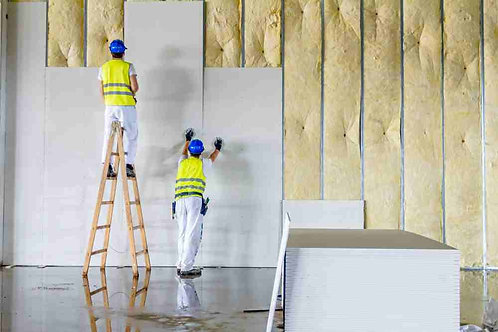 All types of Gypsum & fitout works
