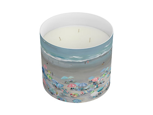 """Salty Surf"" Three Wick Candle"