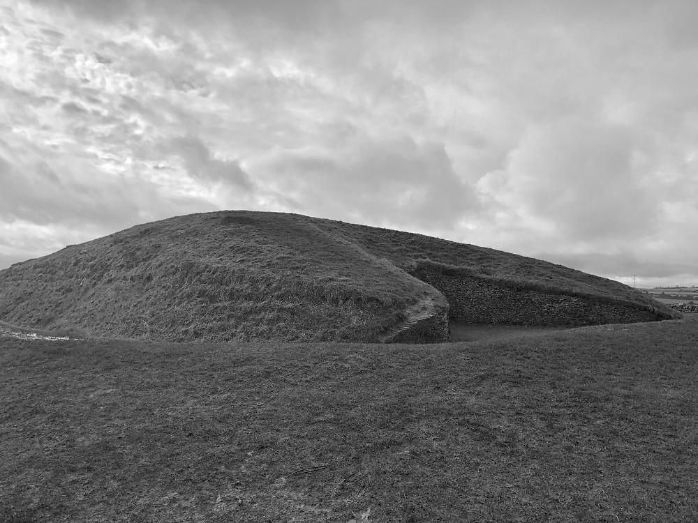 Figure 2: Belas Knap within the wider landscape