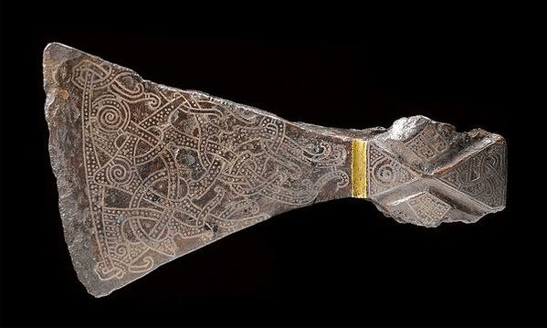 tenth-century Mammen axe discovered in Mammen, Denmark
