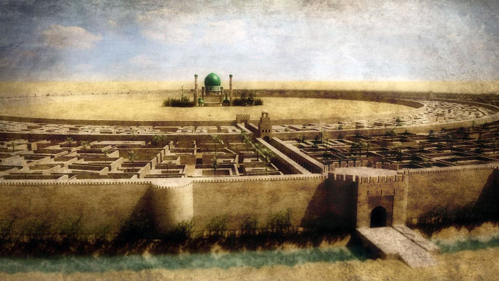 8 The Round City of Baghdad, modern reconstruction, courtesy of Naji El Mir