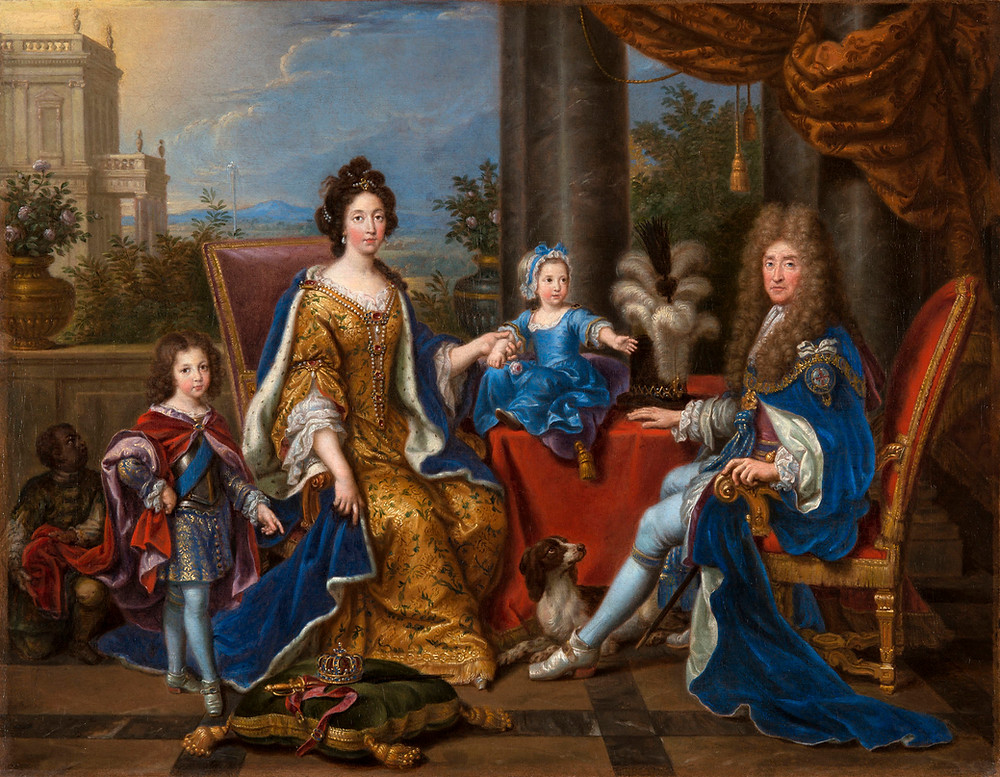 The royal family that could have been. James II and his young wife, Mary of Modena. Source: Royal Collection Trust.