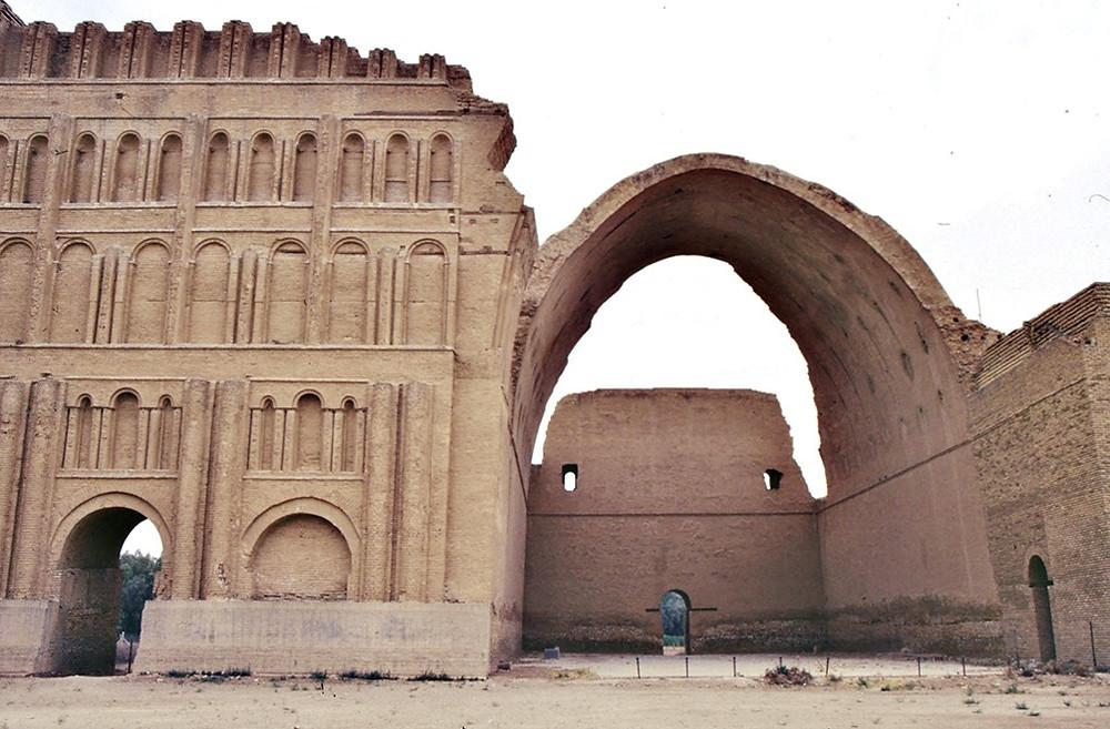 6Khursaw Palace in Ctesiphon, via Wikimedia Commons