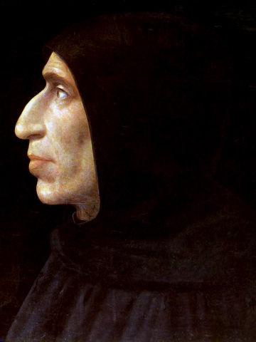 Fra Bartolomeo, Portrait of Girolamo Savonarola, c.1498
