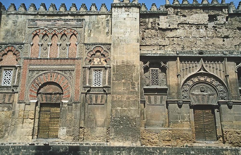 The Cordoba Mosque and Cathedral facade.