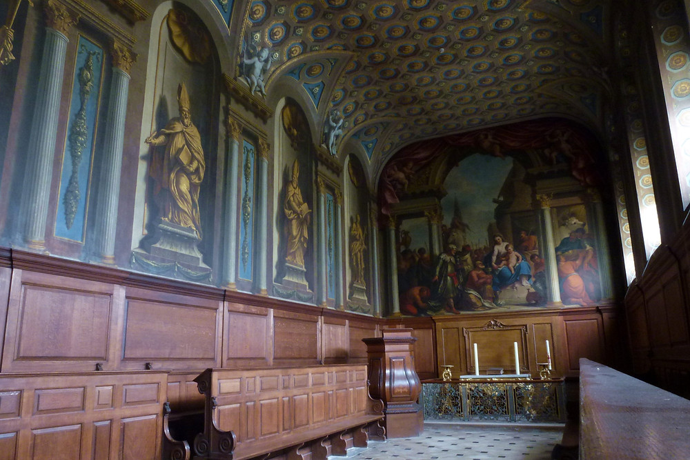 Chapel at Wimpole Hall in Cambridgeshire.