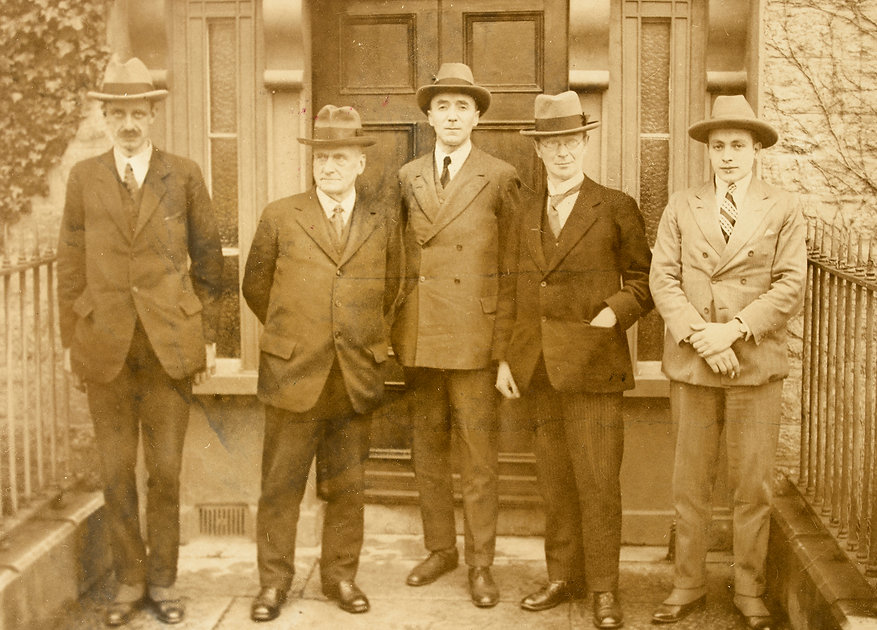 Members of the Irish Boundary Commission, 1924.