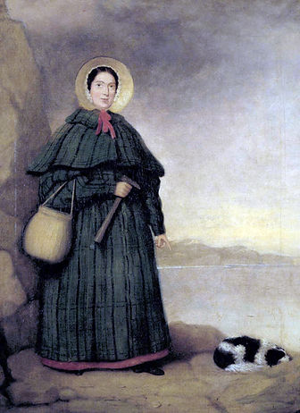 Portrait of Mary Anning, c.1847. Natural History Museum, London.