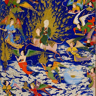 'The Little Flash of Lightning' Buraq in Islamic Art