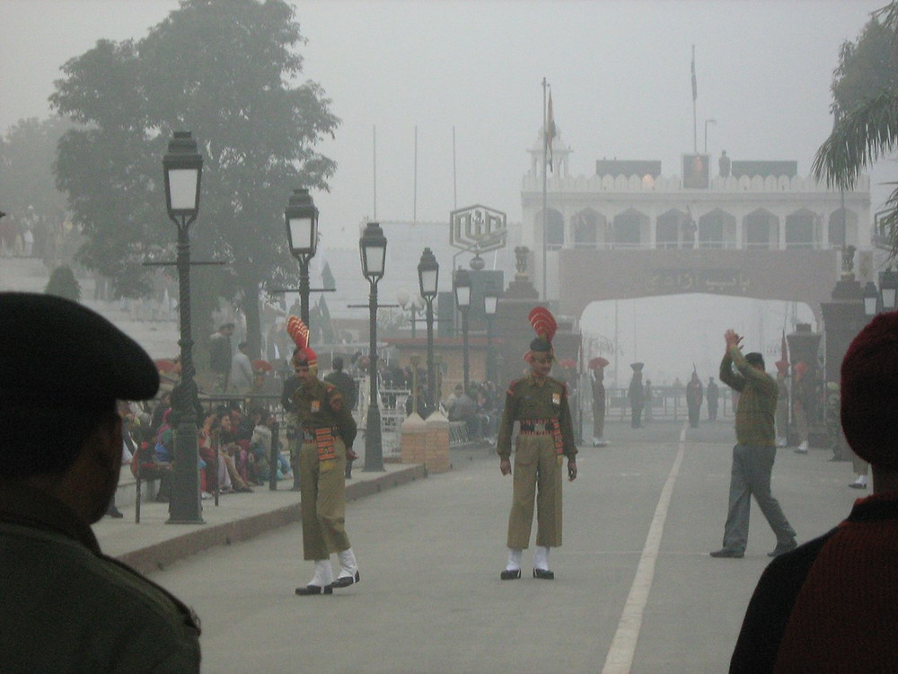 Indo-Pakistan Border - Wagha Gate