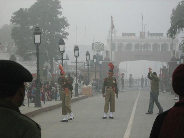 Indo-Pakistan Border - Wagha Gate