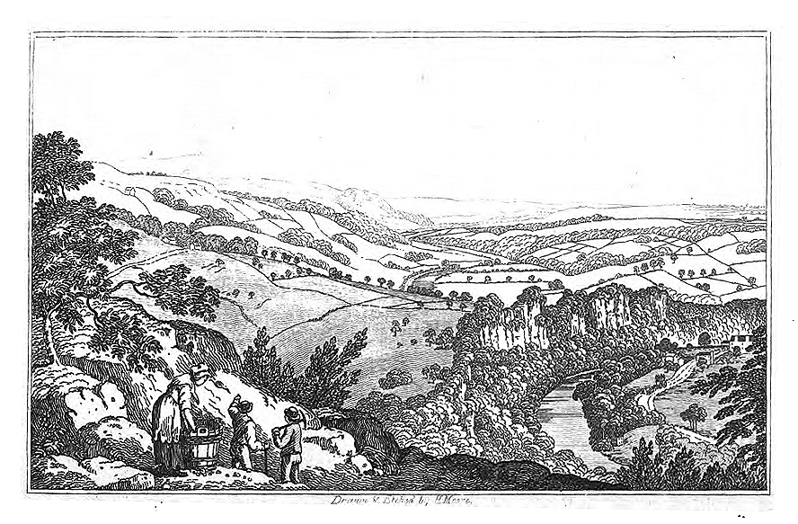 View from Masson' in Henry Moore, Picturesque Excursions: Being a Brief Matlock Guide (1818)