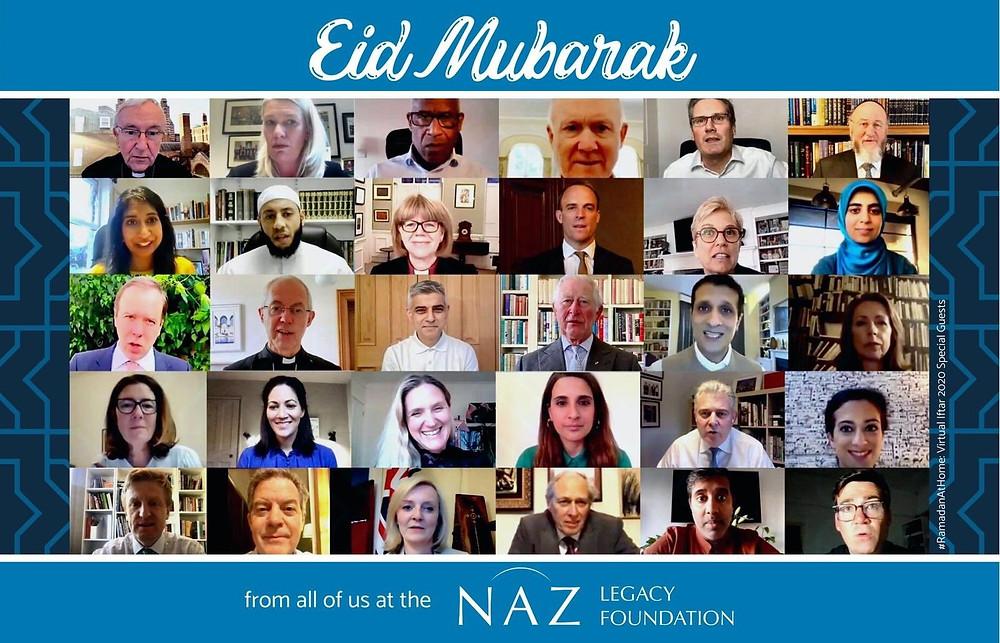 Naz Legacy 'Eid Mubarak' Tweet: Naz Legacy Foundation, tweet @NazLegacy May 23 2020
