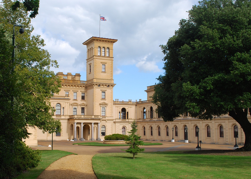 Osborne House, Isle of Wight. Built between 1845 and 1851.