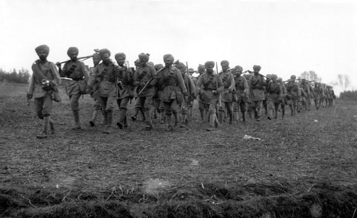 129th Baluchis near Holobeke