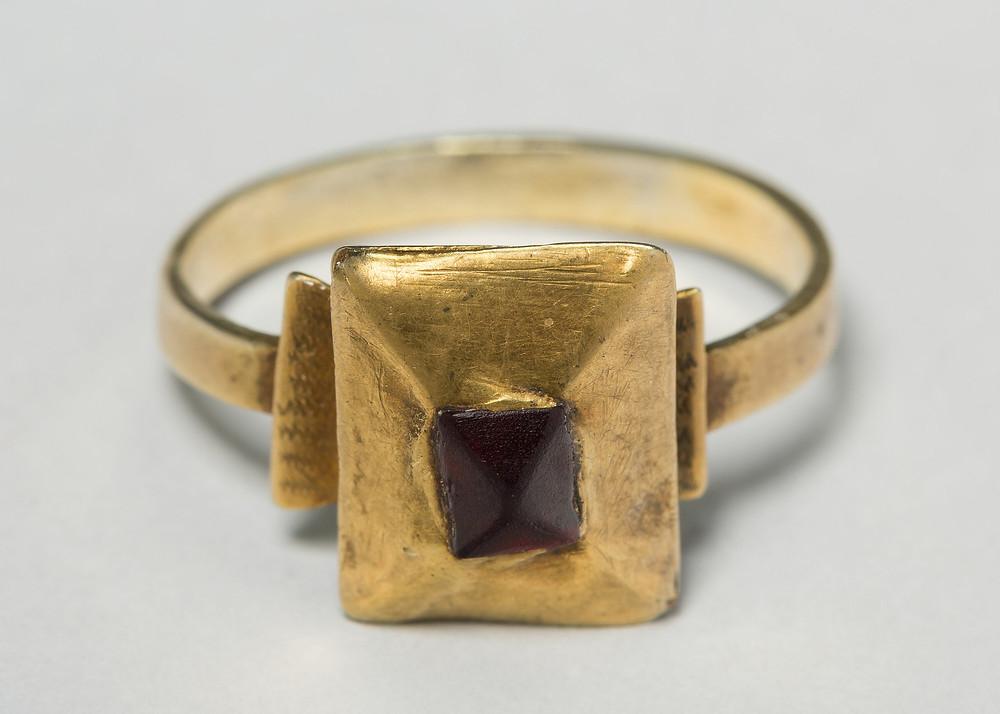 Tart Mold Ring; 13th Century French.