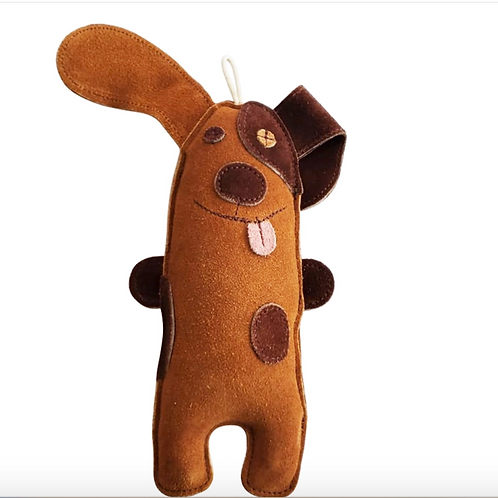 Eco-Friendly Puppy Natural Leather Dog Chew Toy