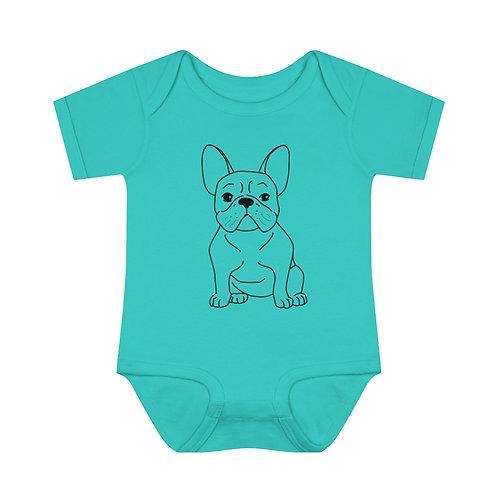 Frenchie Baby Bodysuit
