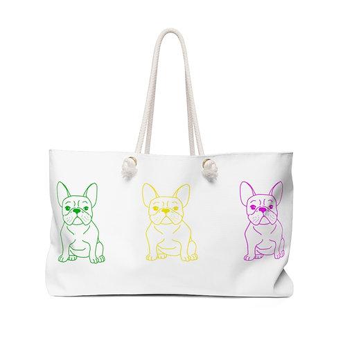 Frenchie Weekender Bag