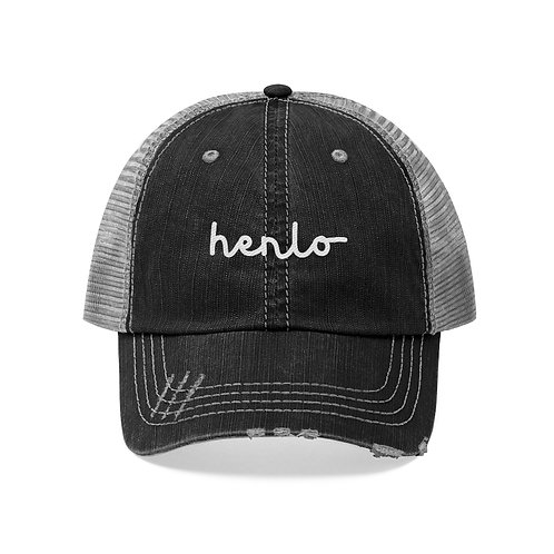 Henlo Hat by SHOPDOGSOF Cincy