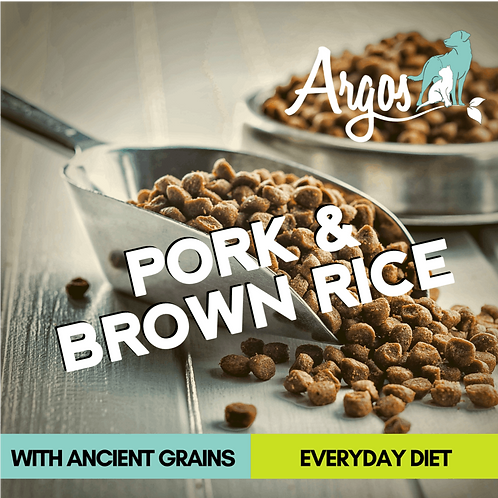 Cincinnati's Argos Pork & Brown Rice Dog Food