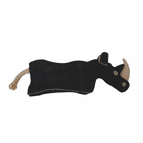 Eco-Friendly Rhino Natural Leather Dog Chew Toy - by SHOPDOGSOF Cincy