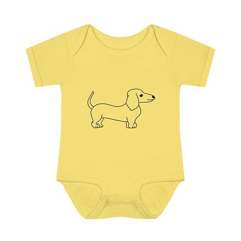 Doxie Baby Bodysuit