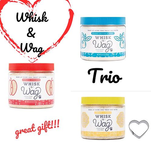 Cincinnati's Whisk & Wag Trio of Treat Mixes