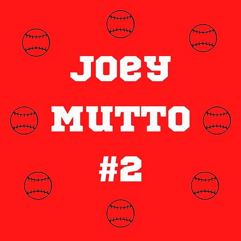 "Joey ""Mutto"" Bandana - by Cincinnati's Doodleshine Design for SHOPDOGSOF!"