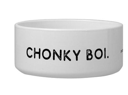 Chonky Boi Large Food Bowl by SHOPDOGSOF Cincy