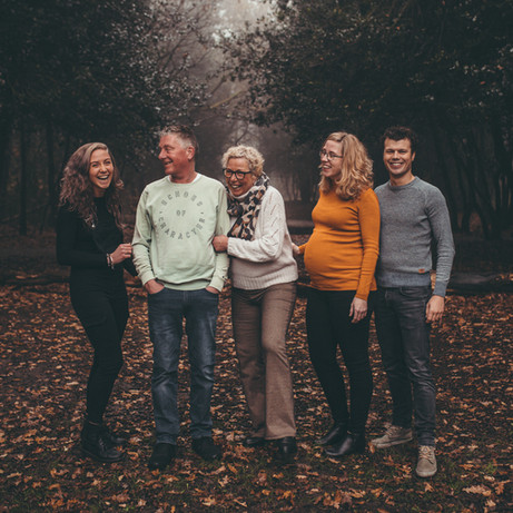 Familie / Gezin fotoshoot