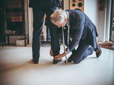 Business shoot bij wknd Tailoring