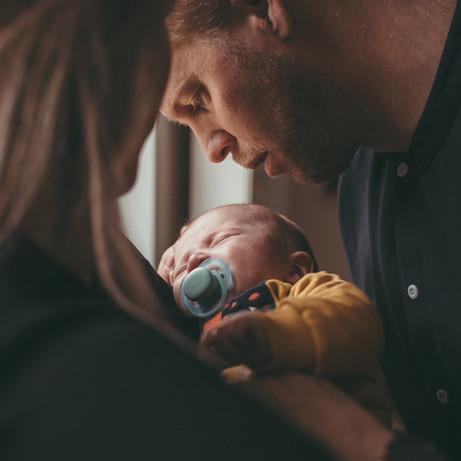 Baby fotoshoot in Leiden