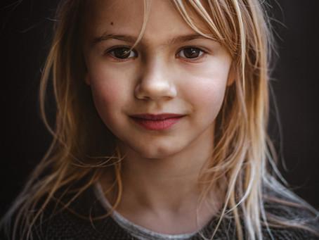 Kinder portretten - fotoshoot @Leiden