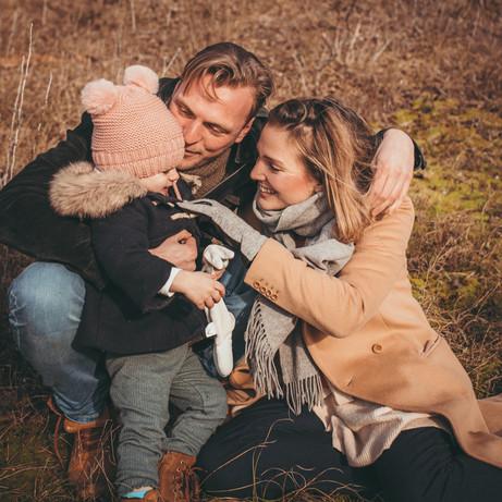 Familie fotoshoot in Wassenaar