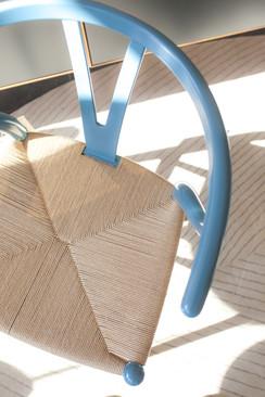 de klare lijn fotografie wish bone chair