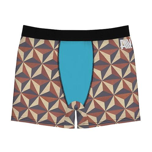 Geometric Men's Boxer Briefs