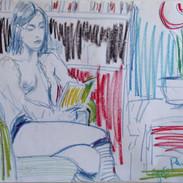 Paula, Shorditch Studio,  Jan 2005