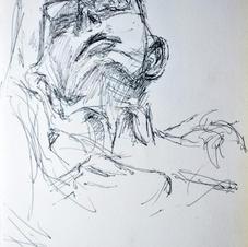 skb1. Tony resting, Newbury sept 2014, 2