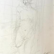 Jasmin, Shower, Bristol, 29.5 x 21 cm