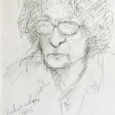 Heathcote Williams. 15/9/15. (2).