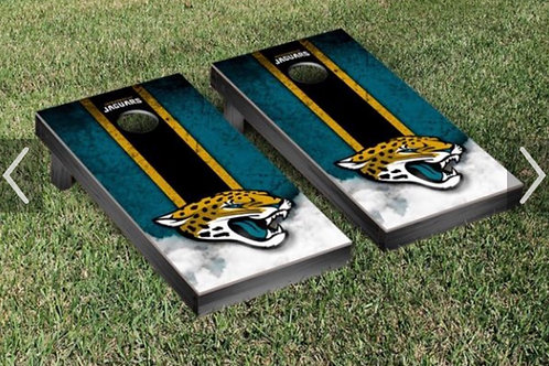CORN HOLE set wooden with bags NFL