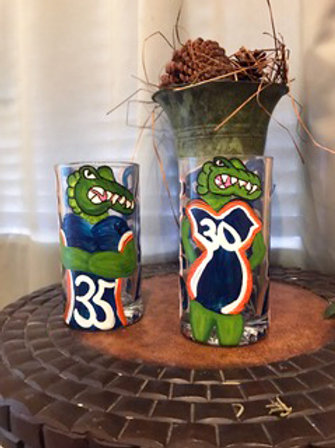 HIS AND HERS SPORTS THEMED MUGS