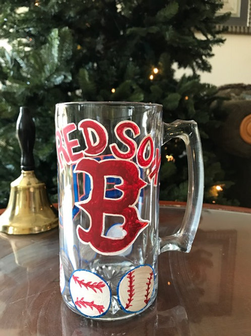 BOSTON RED SOX beer stien