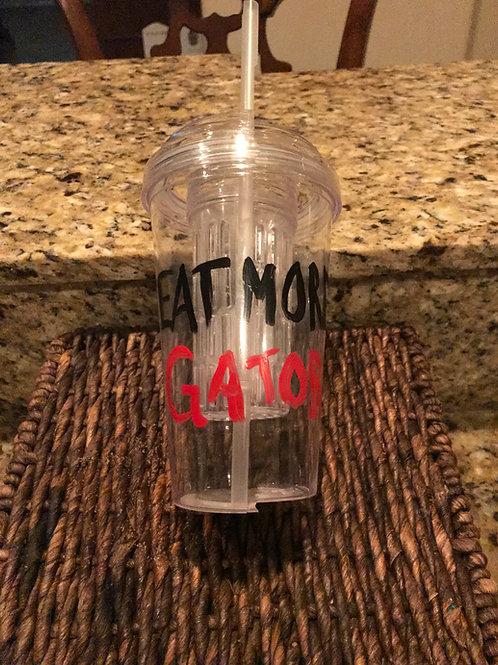 UGA Plastic Cup
