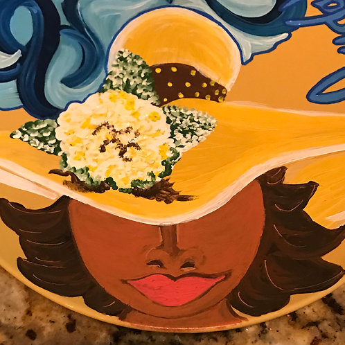 SOUTHERN BELLE plate