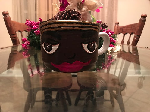 NUBIAN QUEEN coffee mug