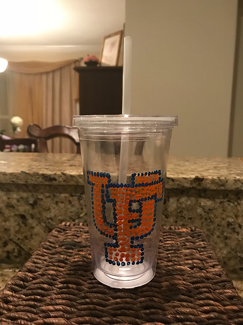 University of Florida Bling Plastic Cup