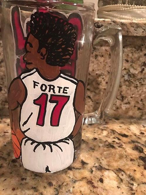 Sports Jersey glass mug